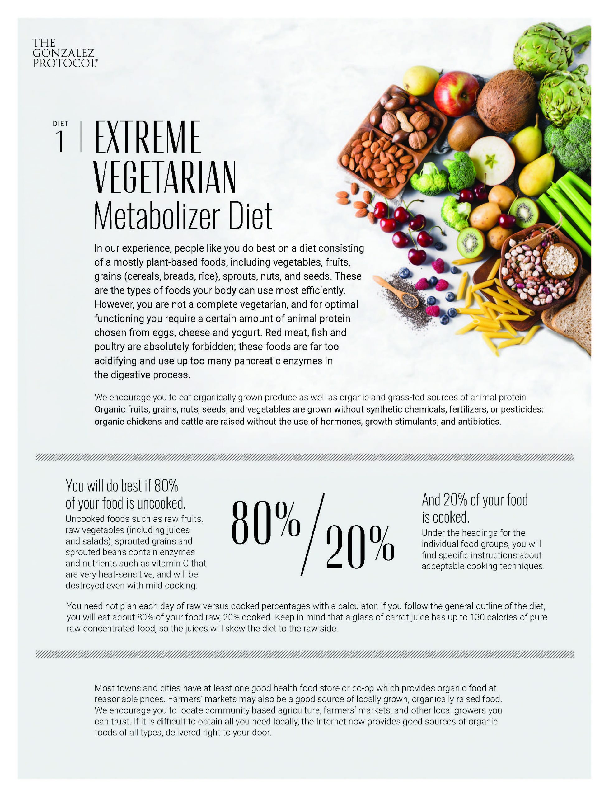 Extreme Vegetarian Diet Cover