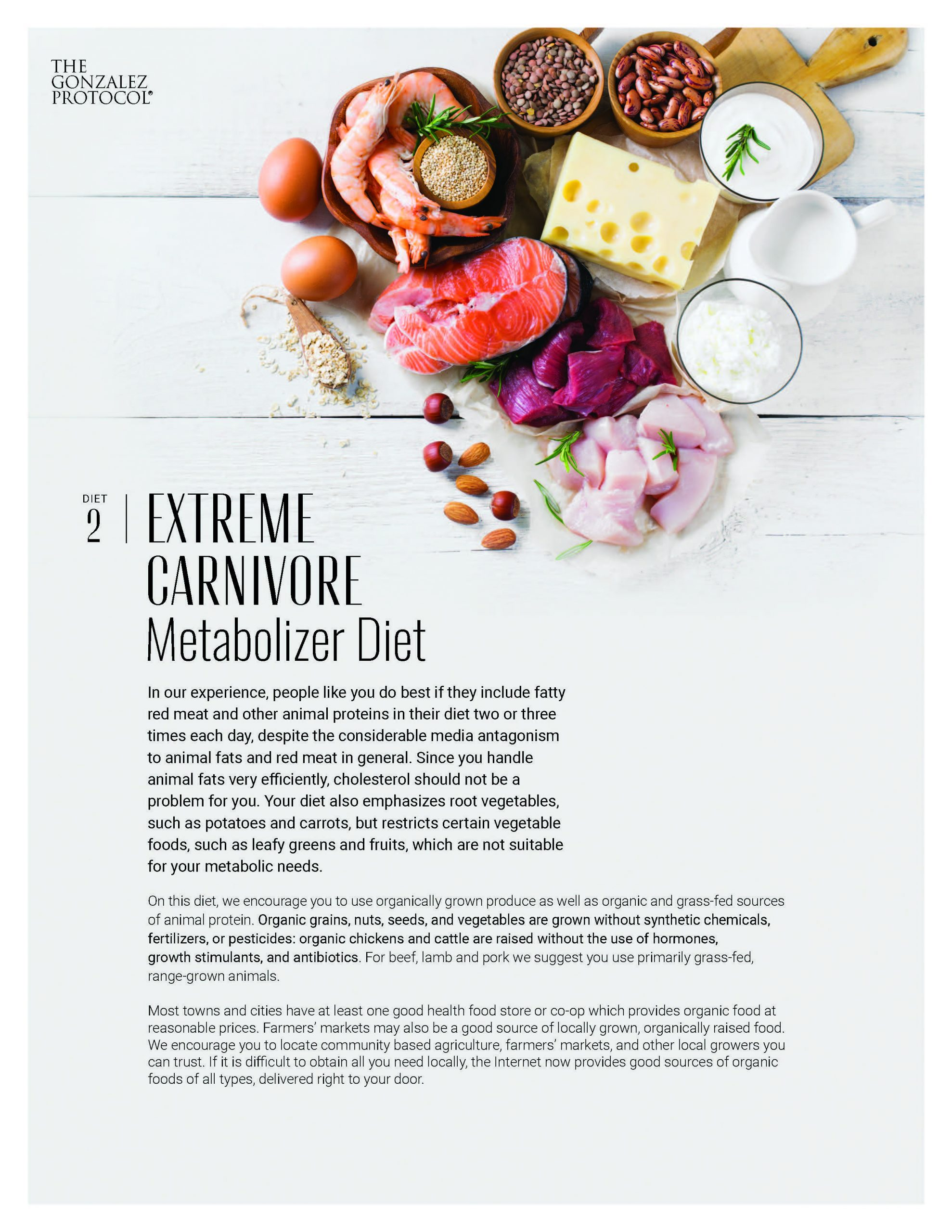 Extreme Carnivore Diet Cover